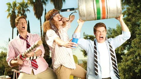 Workaholics keg